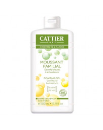 Moussant familial lactoserum bio 500 ml Cattier