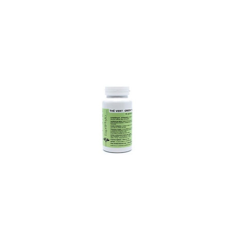 EspritPhyto - Thé Vert - 90 gélules