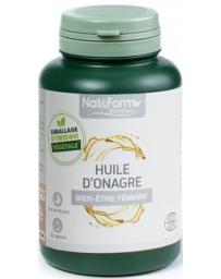 Nat et Form Huile d'onagre bio 120 capsules
