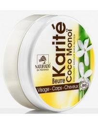 Naturado Beurre de Karité Coco Monoï 150 ml Butyrospermum parkii butter Pharma5avenue