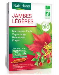 Naturland marronnier d'inde-hamamélis-vigne rouge-fragon 20 ampoules