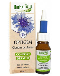 Herbalgem Optigem Collyre Flacon compte gouttes 10ml