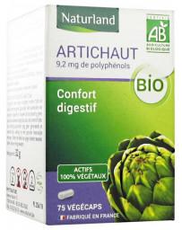 Naturland - Artichaut Bio 75 Gélules Végécaps