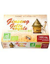 GPH Diffusion Gelée Royale et Ginseng bio 20 ampoules