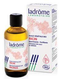 Ladrôme Huile de Ricin bio ricinus communis 100 ml barbe cils cheveux ricin biologique Pharma5avenue