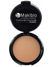 Makibio Poudre compacte Dorée 9 gr