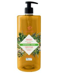 Cosmo Naturel Shampoing douche Tonique 2 en 1 Fraicheur Menthe Eucalyptus 1L shampooing Pharma5avenue