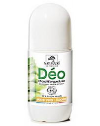 Naturado Déodorant longue durée Aloe vera Kaolin 50 ml pureté et déo roll on Pharma5avenue