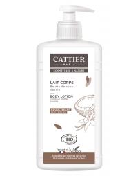 Cattier Lait adoucissant Vanille extrait de coco 500ml, lait corporel bio, pharma5avenue