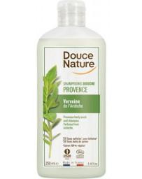 Douche et Bain verveine bio de Provence 500ml Douce Nature - produit d'hygiène bio cosmebio