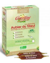 La Gravelline Aubier de tilleul du Roussillon Bio 30 ampoules de 10 ml