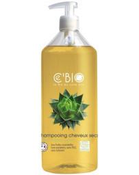 C'BIO Shampoing cheveux secs Karité Jojoba Aloé 500 ml shampoing bio cosmebio Pharma5avenue