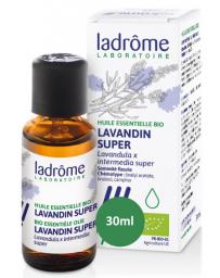 Ladrôme Huile essentielle bio Lavandin x super 30 ml zénitude et relaxation Pharma5avenue