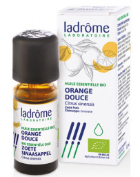 Ladrôme Huile essentielle bio Orange douce 10 ml digestion tonus Pharma5avenue