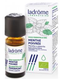 Ladrôme Huile essentielle bio Menthe poivrée 10 ml pureté dépurative Pharma5avenue