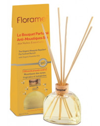 Florame Bouquet Parfumé Anti Moustiques Bio 80 ml répulsif d'insectes volants Pharma5avenue