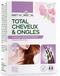 Diet Horizon Total Cheveux et Ongles 60 comprimés nutriments spécifiques Pharma5avenue