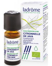 Ladrôme - Huile Essentielle Bio - Citronnelle de Java - 10 Ml digestive et articulaire Pharma5avenue