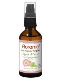 Florame Huile de Rose Musquée rosier muscat bio 50 ml anti-âge anti-rides Pharma5avenue
