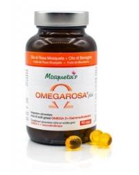 Mosqueta's Rose musquée Bourrache Bio Omegarosa Plus 60 Capsules hydratation protection Pharma5avenue