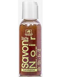 Naturado Savon Noir Douche à l'Eucalyptus 50 ml propreté et hydratation Pharma5avenue