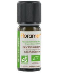 Florame Huile essentielle bio Eucalyptus globulus 10 ml antiseptique voie orale Pharma5avenue