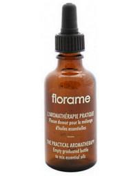 Florame Flacon Doseur gradué avec pipette volume 50ml pour combiner ses huiles essentielles Pharma5avenue