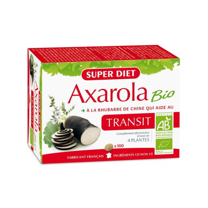 Super Diet Axarola Bio Transit 100 comprimés intestins réguliers Pharma5avenue