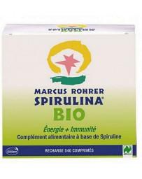 Recharge Spiruline Bio Energie et Immunité Bio 540 comprimés Marcus Rohrer - complément alimentaire