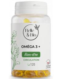 Belle et Bio Oméga 3 à 65 pour cent 120 capsules