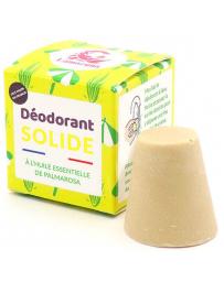 Déodorant solide Palmarosa 30g Lamazuna - produit de soin pour le corps deodorant bio