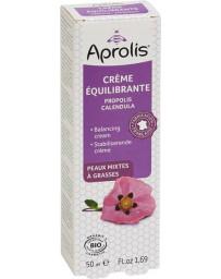 Aprolis Crème Equilibrante Propolis Calendula bio 50 ml peaux mixtes, grasses et jeunes Pharma5avenue