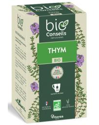 Bio Conseils Infusion Thym bio Purifie les voies respiratoires 20 sachets 22g digestion pureté Pharma5avenue