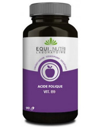 Equi Nutri Vitamine B9 acide folique 90 gélules 500mcg par gélule Pharma5avenue