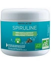 Phyto-actif Spiruline bio 100% naturelle Immunité Fatigue 500 comprimés défenses naturelles Pharma5avenue