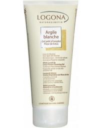 Logona Argile blanche gel prêt à l'emploi Fleur de Lotus cheveux corps 200ml sans actif lavant Pharma5avenue