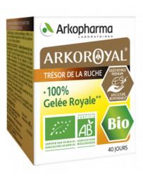 Arkoroyal - Gelée Royale Bio et pure - 40 grammes pot 1000mg par dosette Pharma5avenue