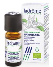Ladrôme Huile essentielle bio Ravintsara 10 ml antiseptique défenses naturelles Pharma5avenue