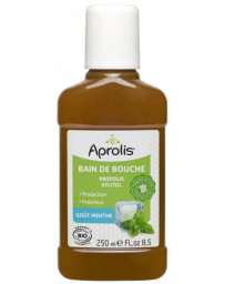 Aprolis Bain de bouche Propolis et Xylitol goût Menthe 250 ml hygiène bucco dentaire Pharma5avenue