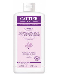 Cattier Gynea hygiène intime geranium calendula - 200 ml anti irritations Pharma5avenue