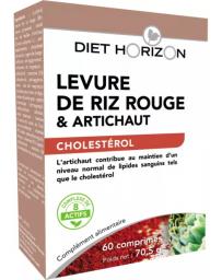 Diet Horizon Levure de Riz rouge 60 comprimes policosanol coenzyme q10 Pharma5avenue