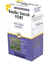 Nutrigee Basilic Sacré fort Anti stress naturel 30 comprimés régulation nerveuse fatigue Pharma5avenue