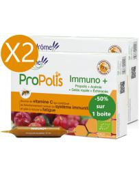 Ladrôme Lot duo Immuno Plus 2 x 20 ampoules le 2ème à 50pc défenses vitanité Pharma5avenue