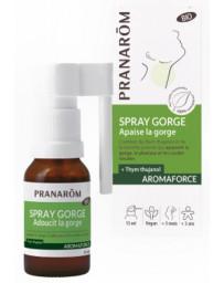 Pranarôm Spray gorge bio Aromaforce 15 ml aromathérapie Bio Pharma5avenue