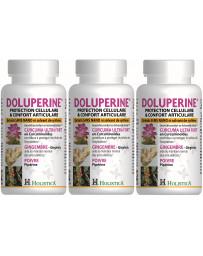 Doluperine lot 3*60 gelules - Curcumine - Holistica- doluperine pas cher Pharma5avenue