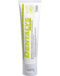 Gamarde Dentifrice Dentalys Argile Goût Citron Tube 100 gr qualité france Pharma5avenue