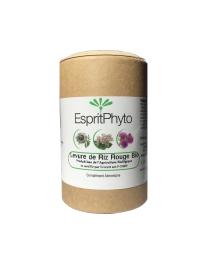 Espritphyto Levure de riz rouge bio 120 gélules - 4 mois de cure cholesterol circulant antioxydant Pharma5avenue