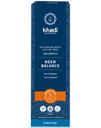 Khadi Shampoing ayurvédique au Neem 200 ml henné huiles essentielles Pharma5avenue