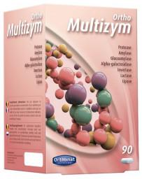Orthonat Nutrition Multizym Enzymes digestives 90 gélules digestion perturbée ballonnement Pharma5avenue