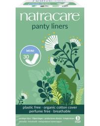 pharma5avenue Protège slip naturels aérés Lot de 30 Natracare - lot de protège slips aérés